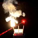 Tự chế đèn lade đốt cháy que diêm