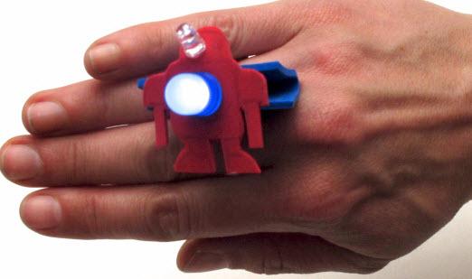 làm vòng đeo tay phát sáng
