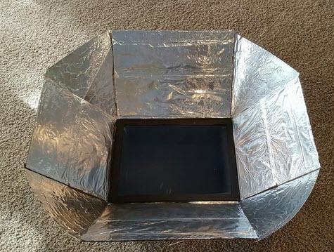 làm lò nướng sử dụng năng lượng mặt trời