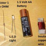 làm mạch sạc không dây đơn giản với pin và transistor
