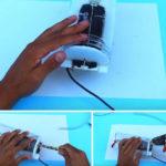 Tự làm máy điều hòa mini giá rẻ với kết nối USB