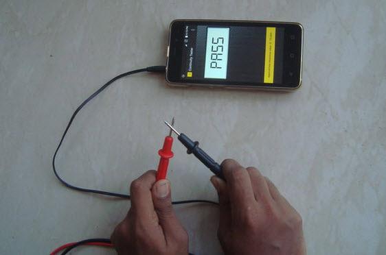 làm máy đo điện trở với điện thoại Android