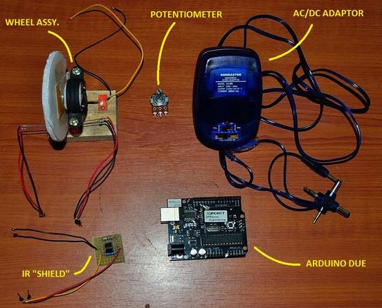 máy đo tốc độ đơn giản với mạch Arduino