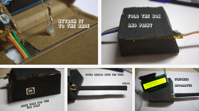 máy đo tốc độ quay bằng cảm biến quang