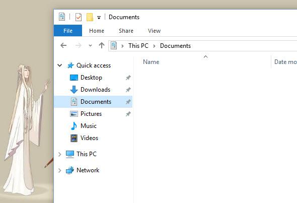 gỡ bỏ OneDrive trong File Explorer của Windows 10