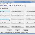 Xóa một hay nhiều trang trong file PDF