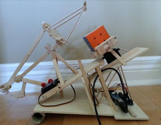 làm cánh tay robot