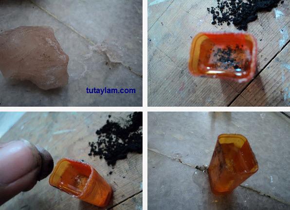 sử dụng pin từ thỏi than chì pin con ó