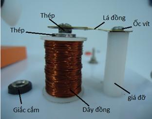 Tự làm thiết bị Rơ le điện từ
