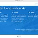thông báo nâng cấp windows 10 phiền toái