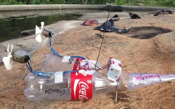 làm thuyền gió đơn giản từ vật liệu tái chế