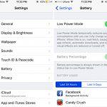 chế độ Low Power Mode để tiết kiệm pin trên iOS 9