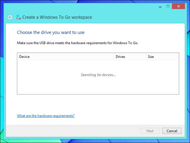 tính năng chỉ có trên phiên bản Windows 8 Enterprise
