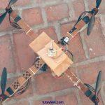 làm máy bay trực thăng bốn cánh đơn giản