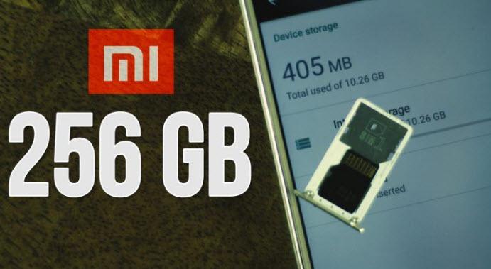 tăng bộ nhớ trong của điện thoại Xiaomi
