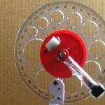Tự làm giác kế laser giá rẻ để đo độ cao một vật