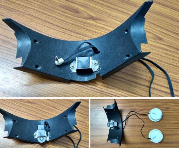 Hàn chân 3mm vào đầu kia của tai phone