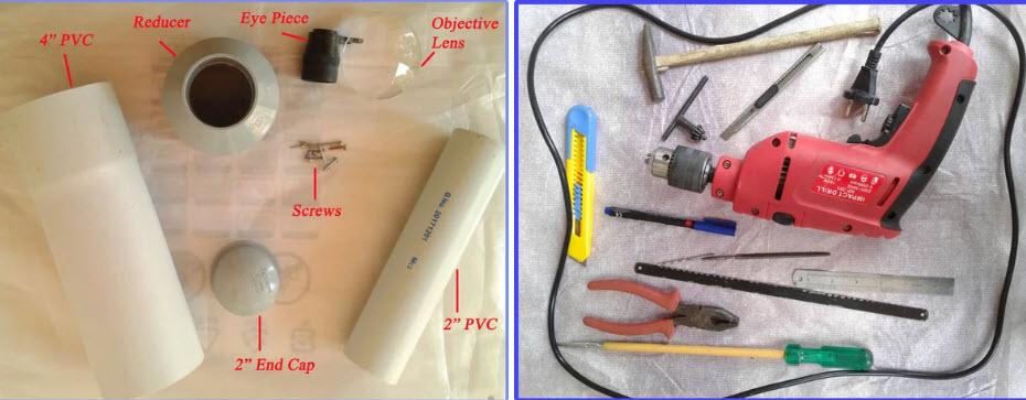Vật liệu và dụng cụ cần chuẩn bị