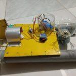 Sản phẩm sáng tạo - Mô hình máy thu dọn rác trên sông hiệu quả bằng điều khiển từ xa, chi phí thấp